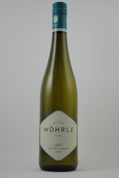 2017 Lahrer Weissburgunder (VDP Ortswein) QbA trocken